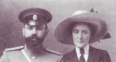 Леон Абгарович с женой Елизаветой Иоакимовной